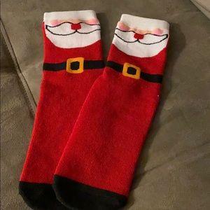 NEW LISTING! NWOT Santa Socks